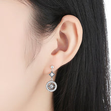 Load image into Gallery viewer, 【925 Sterling Silver+Cubic Zircon】The One Drop  Earrings