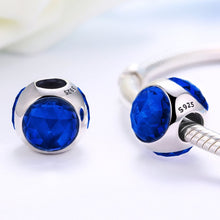 Load image into Gallery viewer, 【925  Sterling Silver】 The One Ocean Blue Beads