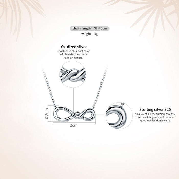 "【925 Sterling Silver】""You And Me"" Necklaces"