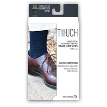 MEN'S FINE CHECKERED PATTERN COMPRESSION SOCKS PACKAGING