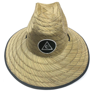 "Leiki ""Straw Day Long"" Sun Hat - Leiki Boardshort Co."