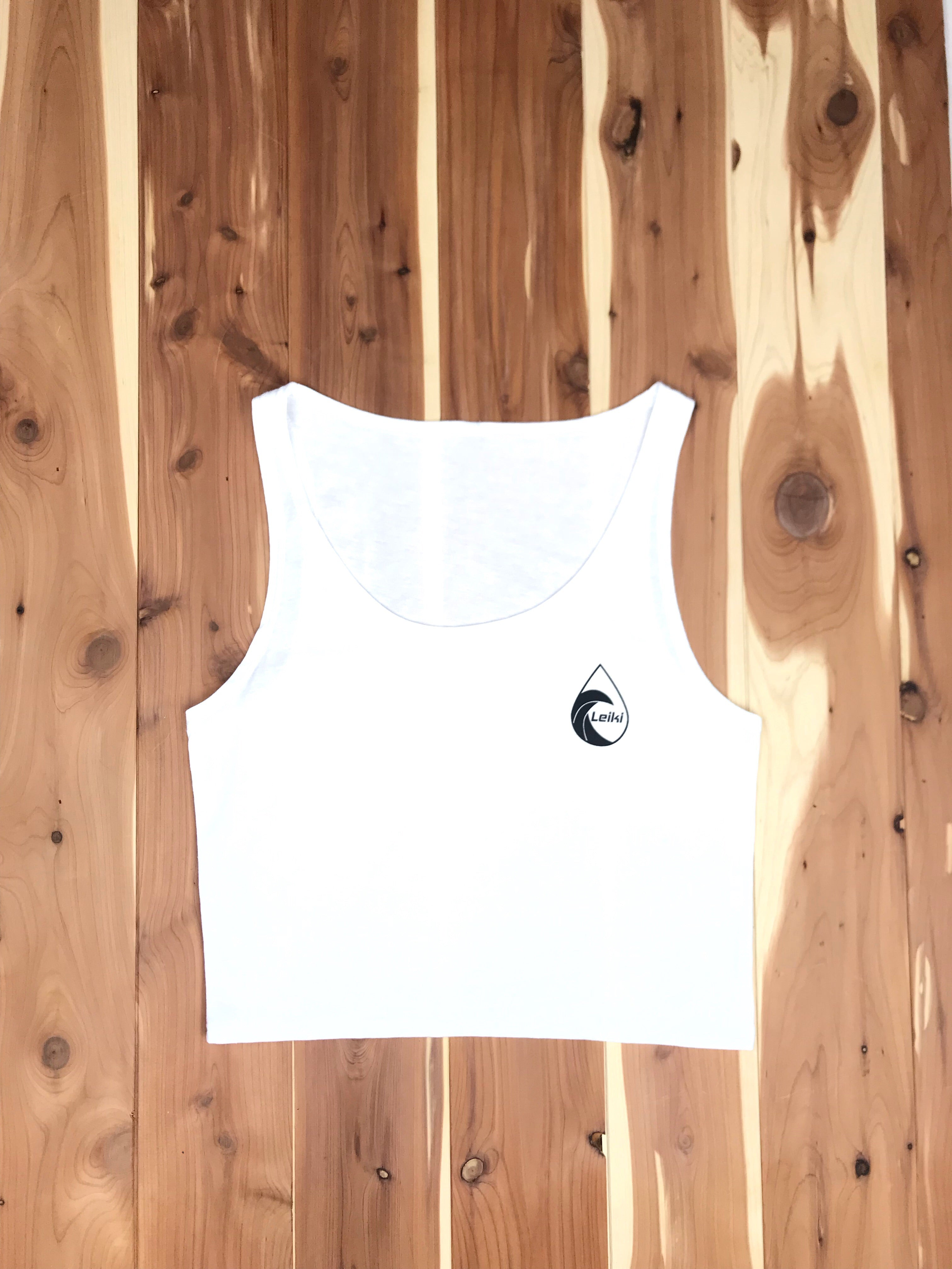 "Leiki ""Beach Jam"" Crop Tanks - Leiki Boardshort Co."