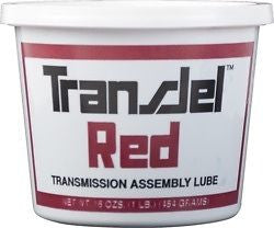 TRANSJEL RED LIGHT TACK transmission assembly lube