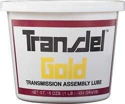 TRANSJEL GOLD MEDIUM TACK transmission assembly lube