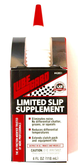 LUBEGARD LIMITED SLIP DIFFERENTIAL REAR END OIL ADDITIVE SUPPLEMENT 4 oz