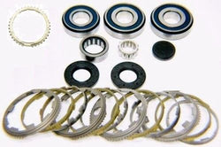 2012-16 Jeep NSG370 6 speed transmission bearing kit with synchronizer rings