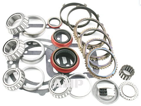 1991-95 NV4500 5 speed transmission 2wd 4wd bearing kit with synchronizer rings