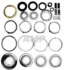 1997-04 Corvette T56 6 speed bearing kit with synchronizer rings