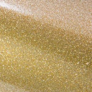 permanent self adhesive Ultra Metallic Gold glitter craft vinyl