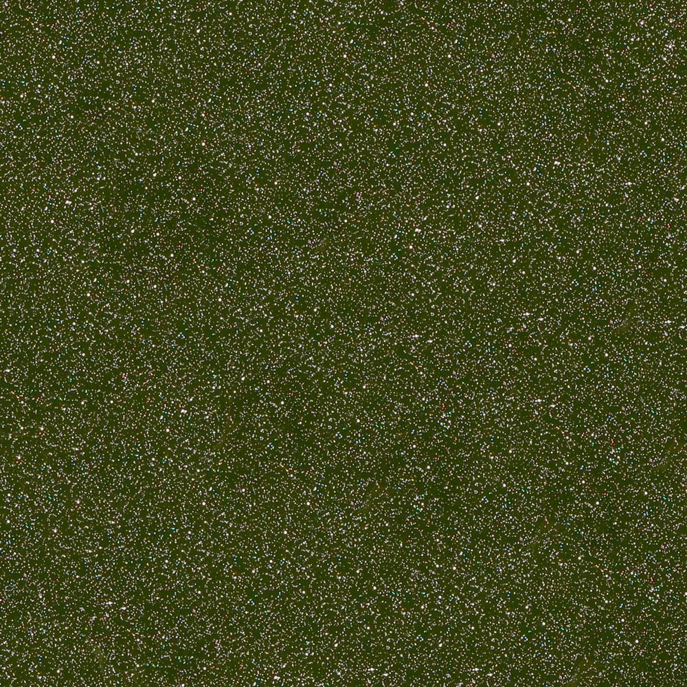 Drab green outdoor glitter craft vinyl.