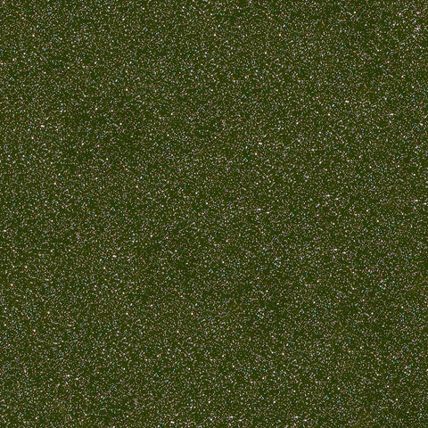 Styletech Drab Green FX outdoor glitter craft vinyl.