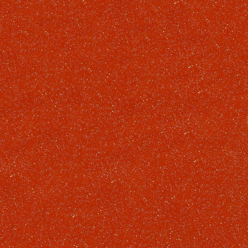 Rust red outdoor glitter craft vinyl.  Styletech fx craft vinyl with holographic flakes