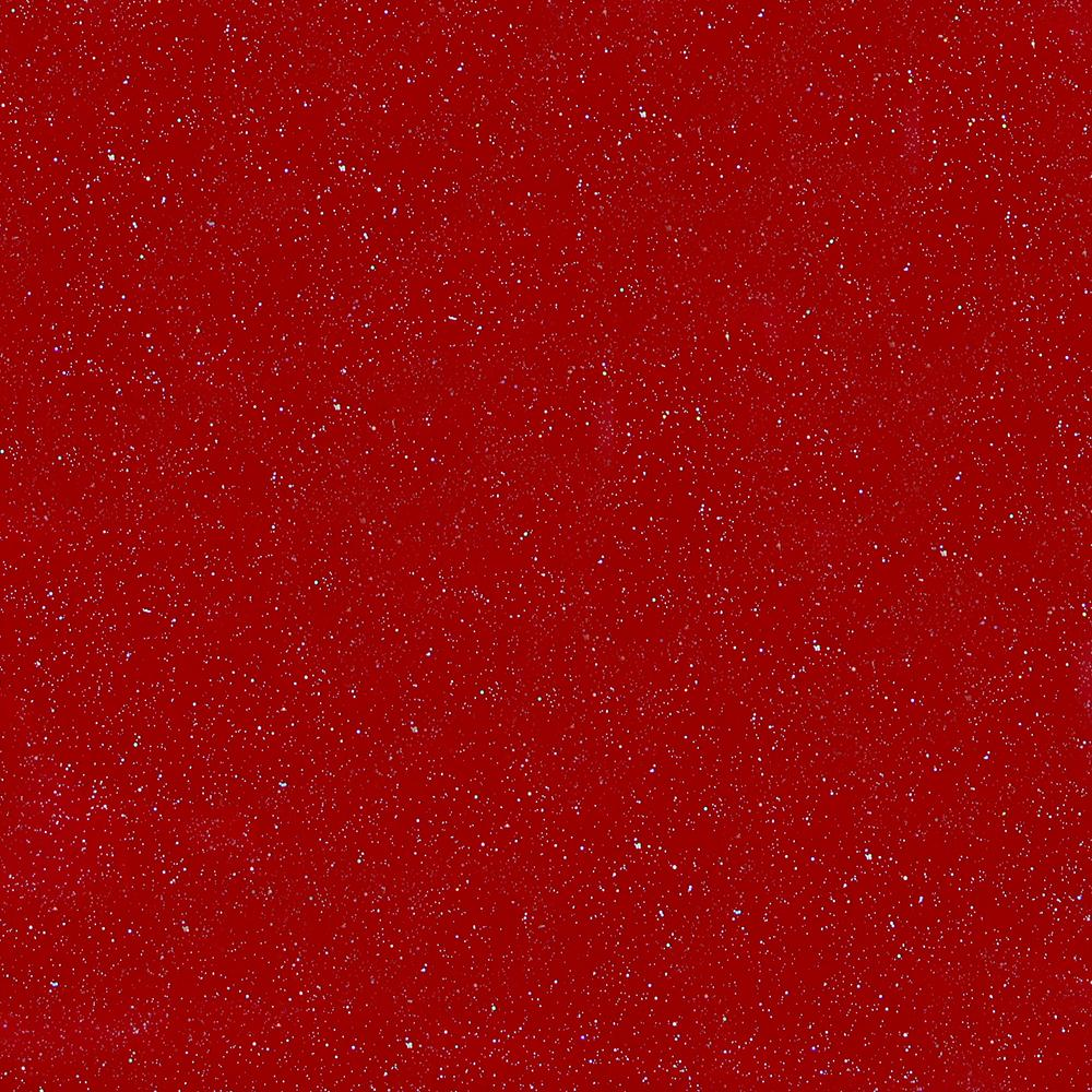 Red outdoor craft vinyl with holographic flakes.