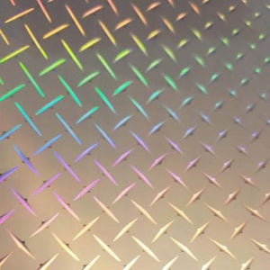 Diamond Deck Plate Holographic