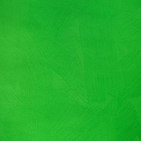 Bright Green Brushstroke