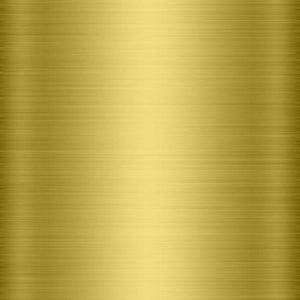 Brushed gold chrome self adhesive metallized film