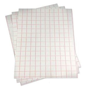 Gridded Transfer Tape with a Liner
