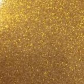Gold transparent glitter craft vinyl