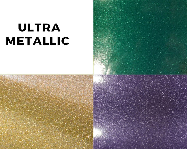 Ultra metallic mardi gras craft vinyl pack