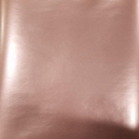Self Adhesive Permanent rosy polished metal glossy craft vinyl