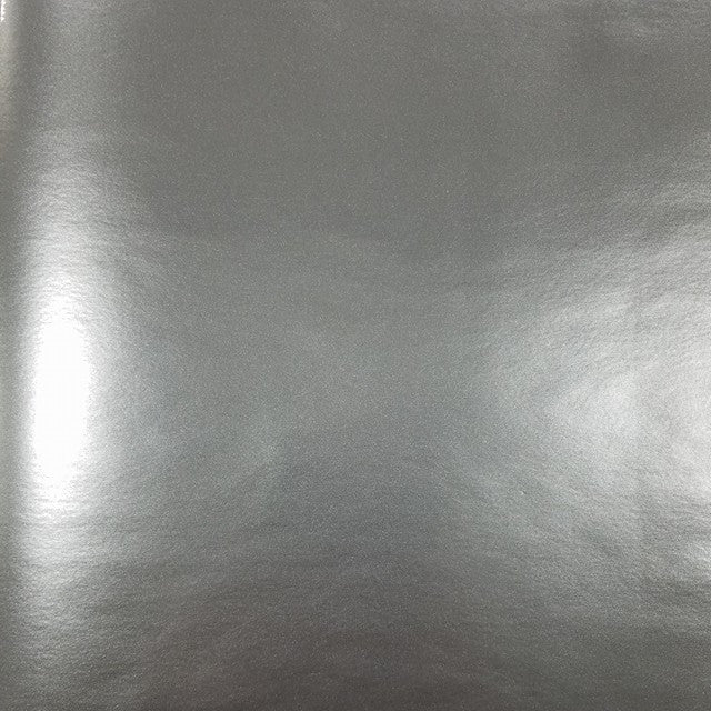 Self Adhesive Permanent Silver craft vinyl that looks like polished metal.