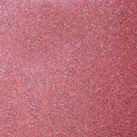Self Adhesive Permanent Transparent Glitter Rosy craft vinyl