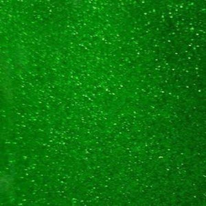 Green Transparent Glitter Craft Vinyl