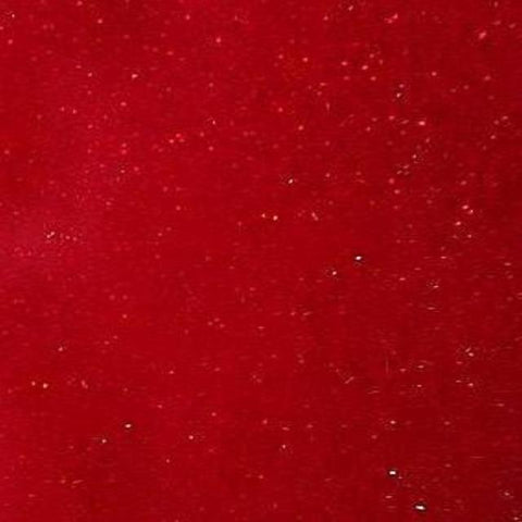 Self Adhesive Permanent Transparent Glitter Red craft vinyl