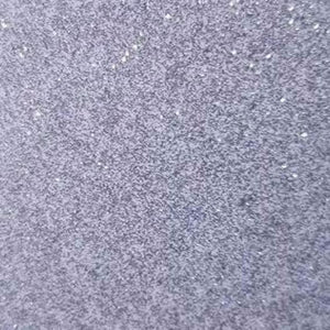 Self Adhesive Permanent Transparent Glitter Silver craft vinyl
