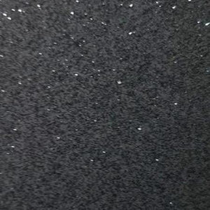 Transparent Glitter Dark Grey craft vinyl