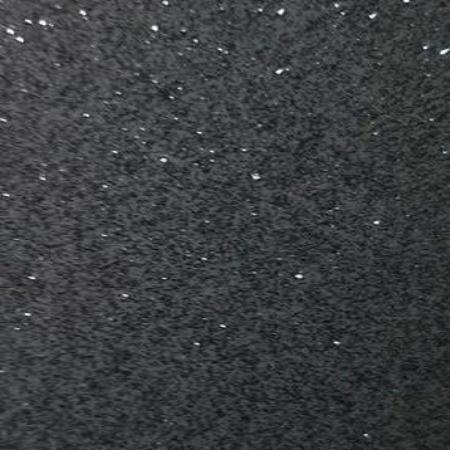 permanent self adhesive Transparent Glitter Dark Grey craft vinyl
