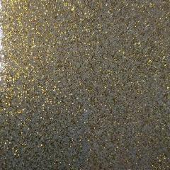 Styletech vegas gold transparent glitter craft vinyl