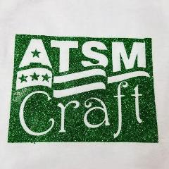 Green Glitter heat transfer vinyl