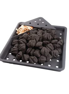 Cast Iron Charcoal and Smoker Tray