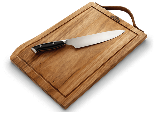 Premium Cutting Board with Knife