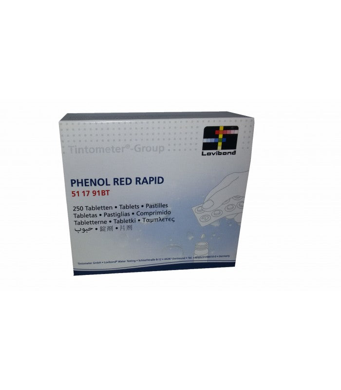 Phenol Red Reagent Tablets
