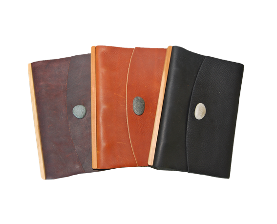 Large Loose Leaf Journal -Button
