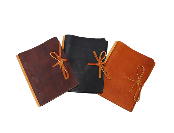 Large Loose Leaf Journal -Tie