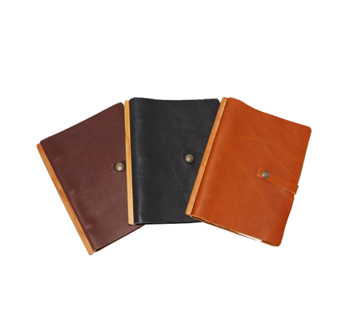 Large Loose Leaf Journal -Snap