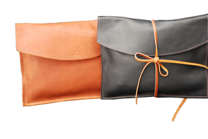 Large Leather Envelope - Tie