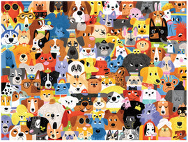 Lots of Dogs 500 Pieces