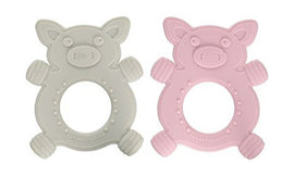 Giggly The Piggy Silicone Teether