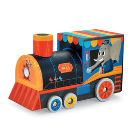 Train Puzzle & Play Set