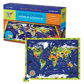 Discover World Puzzle 100 Pieces