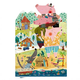 My tree little pigs puzzle