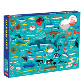 Ocean Life 1000 Pieces Family Puzzle