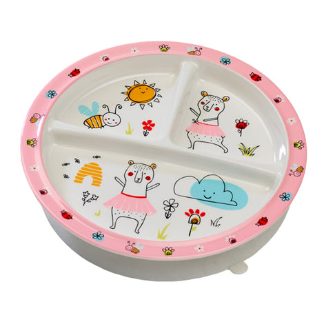 Clementine the Bear Baby Plate
