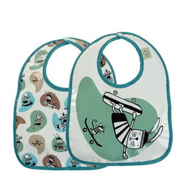 Ryder The Rabbit Baby Bib Get