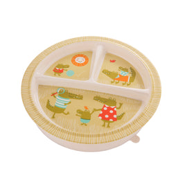 Ollie Gator Baby Plate