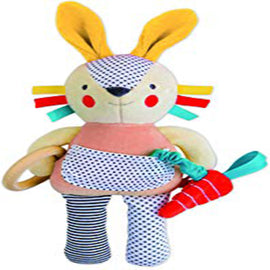 Busy Bunny Organic Activity Doll